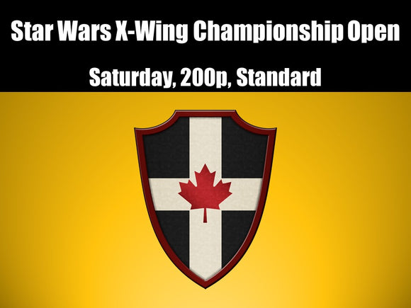 *CTC: Star Wars X-Wing Championship Open