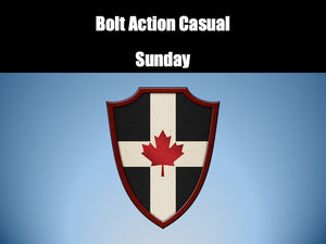 CTC: Bolt Action Escalation Casual Event, Sunday, 3 Rounds