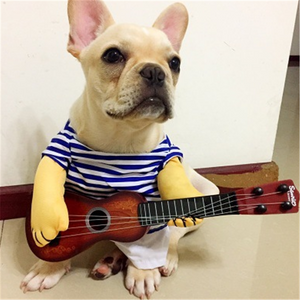 Guitar personality cute pet clothing
