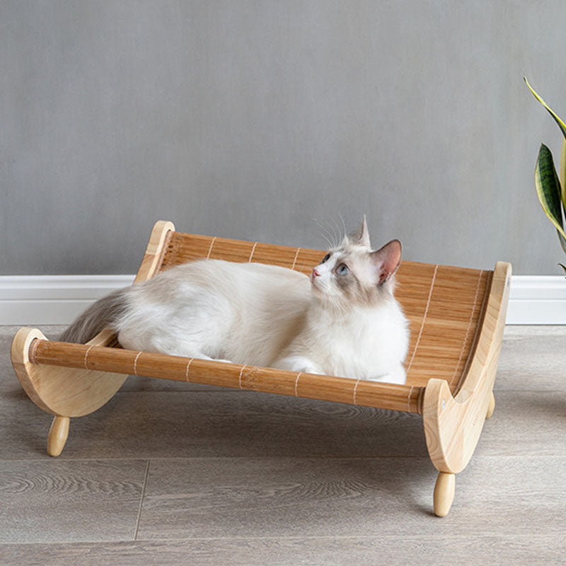 Summer Rocking Cat Bed
