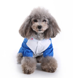 Hooded Pet Dog Raincoats Waterproof Clothes For Small Dogs Chihuahua Yorkie Dog Raincoat Poncho Puppy Rain Jacket