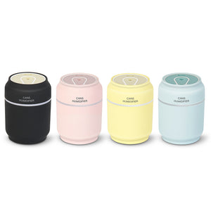 Creative cans humidifier three-in-one with a silent mini usb humidifier 5.0