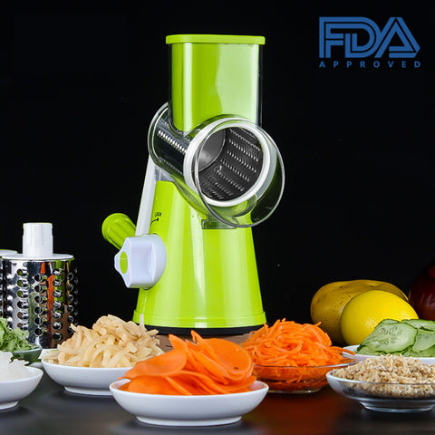 Vegetable wrapper with 3 Stainless Steel Chopper