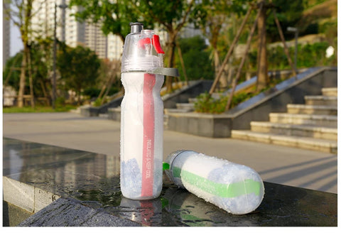 Spray Cup Sport Plastic Water Cup