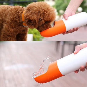 Pet Dog Outdoor Travel Cup Portable Feeding Bowl Dog Next To Water Bottle Kettle Cat Feeder Drinking Water Machine