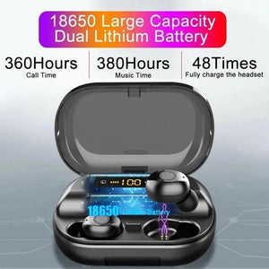 Bluetooth Touch Control Wireless Charging Earbuds - Over $29 Free Shipping