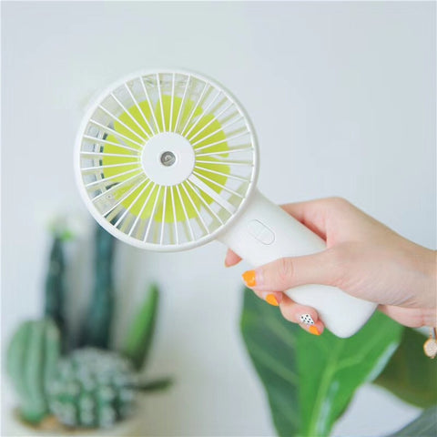 Handheld USB Charge Portable Spray Fan