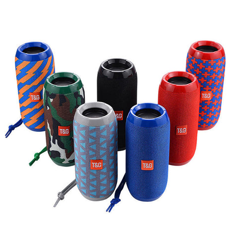 (New Year Offer & Free Shipping)Portable Powerful Bass Waterproof Bluetooth Speaker
