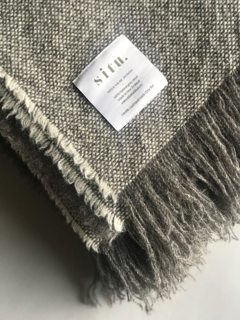 SITU BLANKET WIDE STRIPE