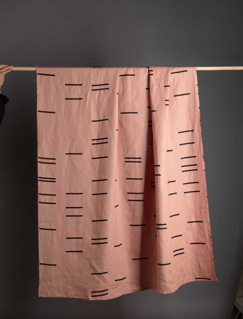 SITU LINEN THROW BLUSH