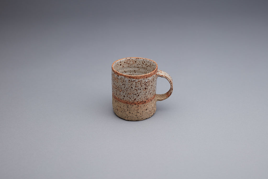 HANDMADE WHITE MUG (low stock please contact us to pre-order)