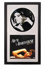 Amy Winehouse Vinyl Record Art - Deadwax Art
