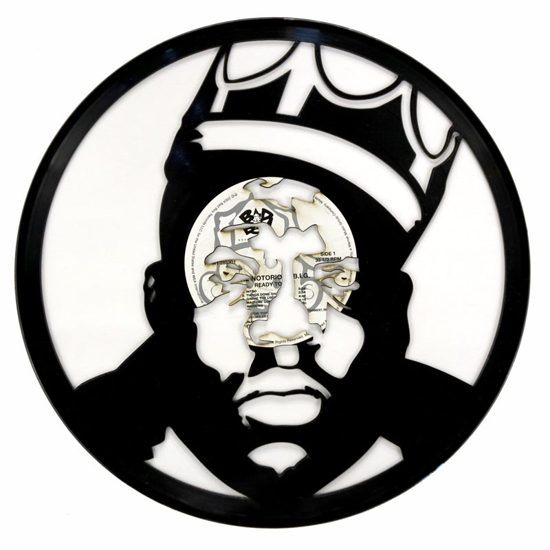 Biggie Vinyl Record Art - Deadwax Art