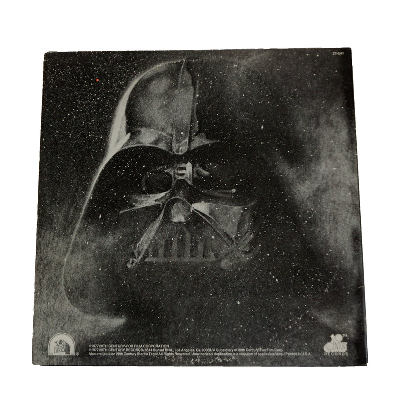 Darth Vader Vinyl Record Art - Deadwax1