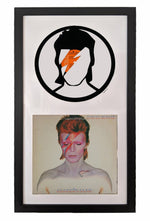 David Bowie Vinyl Record Art - Deadwax Art