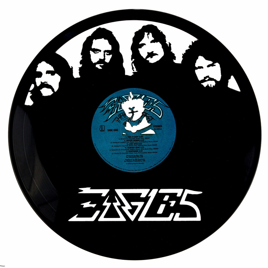 Eagles Vinyl Record Art - Deadwax1
