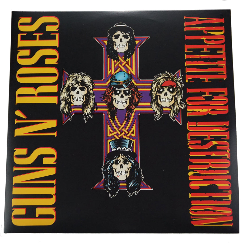 Guns N' Roses Appetite For Destruction - Deadwax1