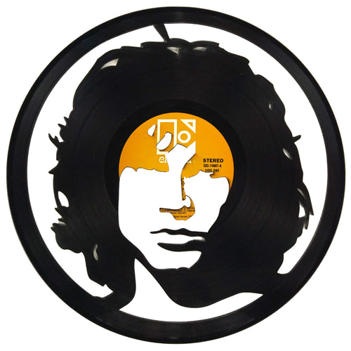 Jim Morrison Vinyl Record Art - Deadwax1