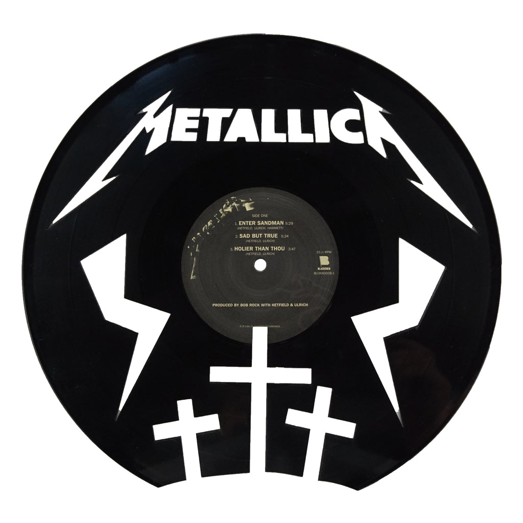 Metallica Vinyl Record Art - Deadwax1