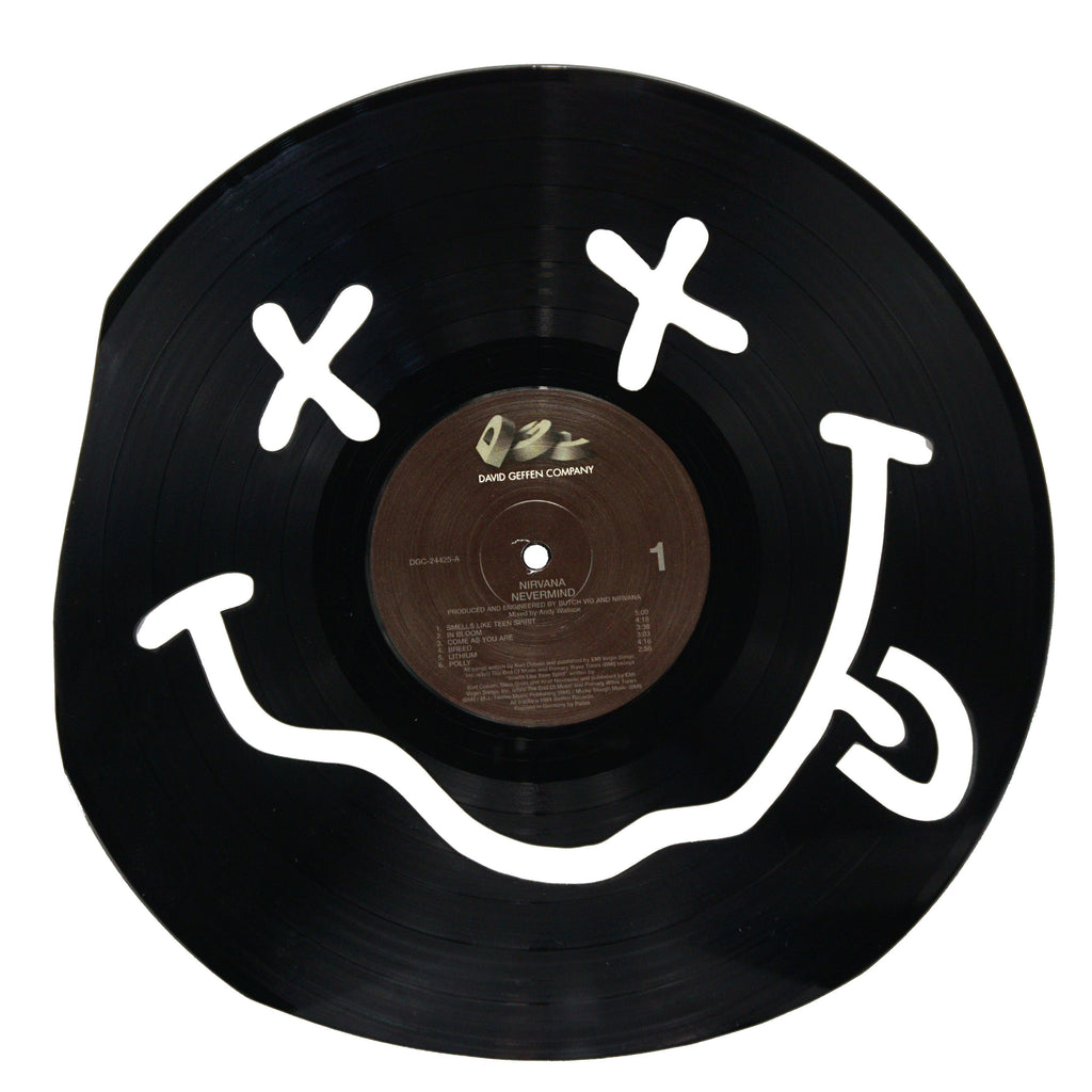 Nirvana Vinyl Record Art - Deadwax1