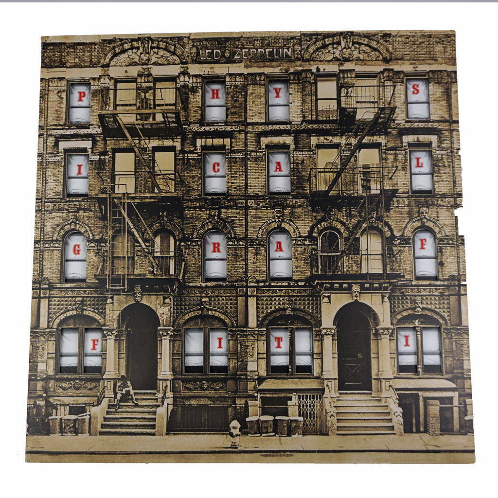Physical Graffiti Vinyl Record Art - Deadwax1
