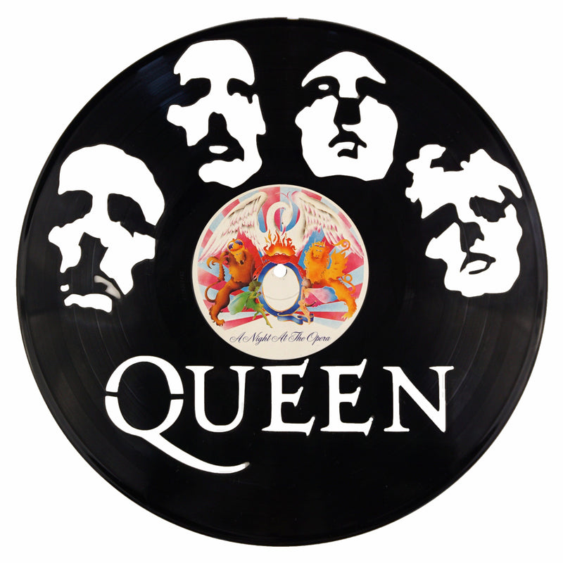 Queen Vinyl Record Art - Deadwax1