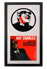 Ray Charles Vinyl Record Art - Deadwax Art
