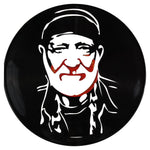 Willie Nelson Vinyl Record Art - Deadwax Art