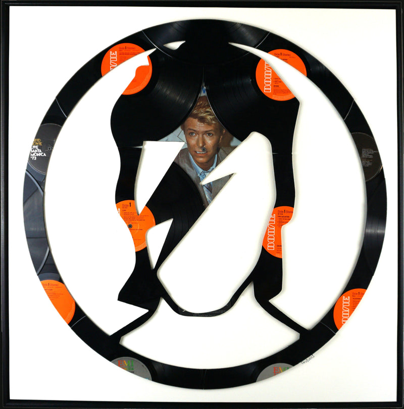 Ziggy Stardust - Deadwax Art