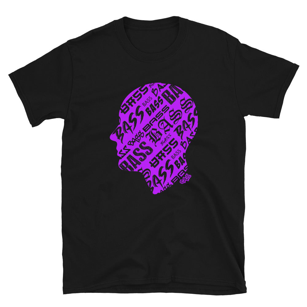 Car Audio Swag Bass Head Tee (Neon Purple)