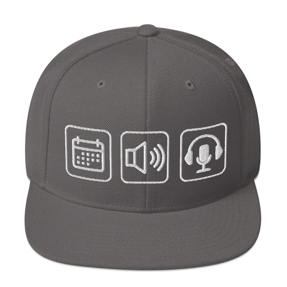 Everyday Audios Snapback Hat