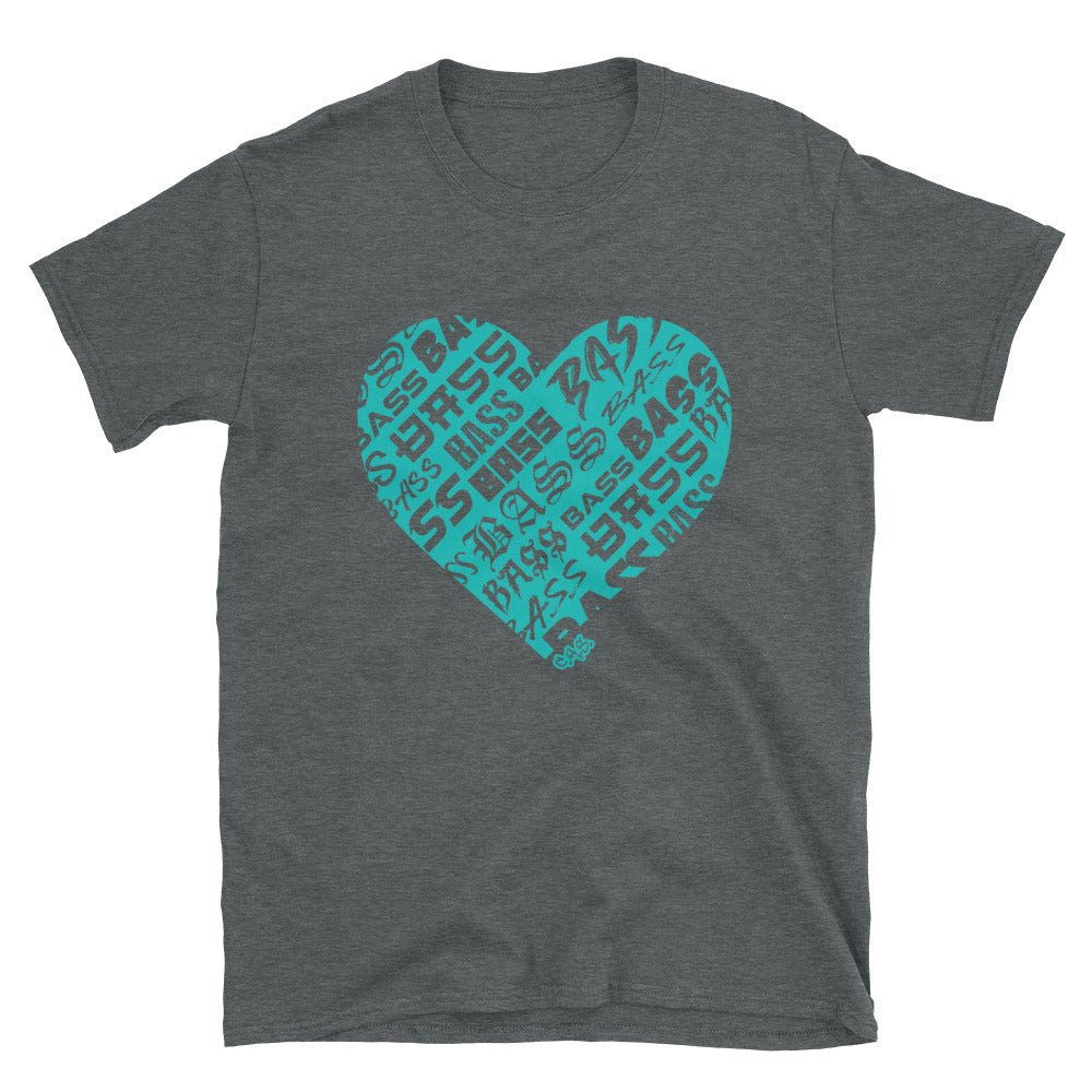 Car Audio Swag Bassheart Tee (Tiffany)