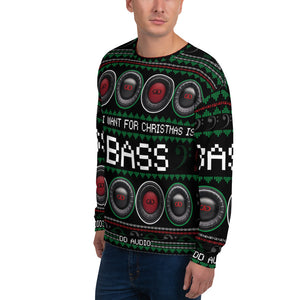 DD Audio Christmas Sweatshirt (Black)