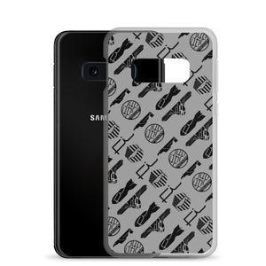 FI ALL Logo Samsung Case (SIlver/Grey)