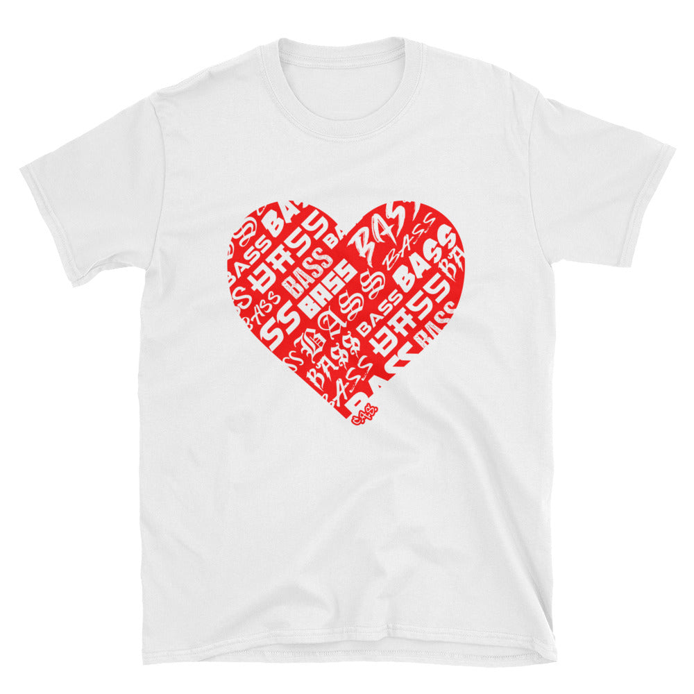Car Audio Swag Bassheart Tee (Red)