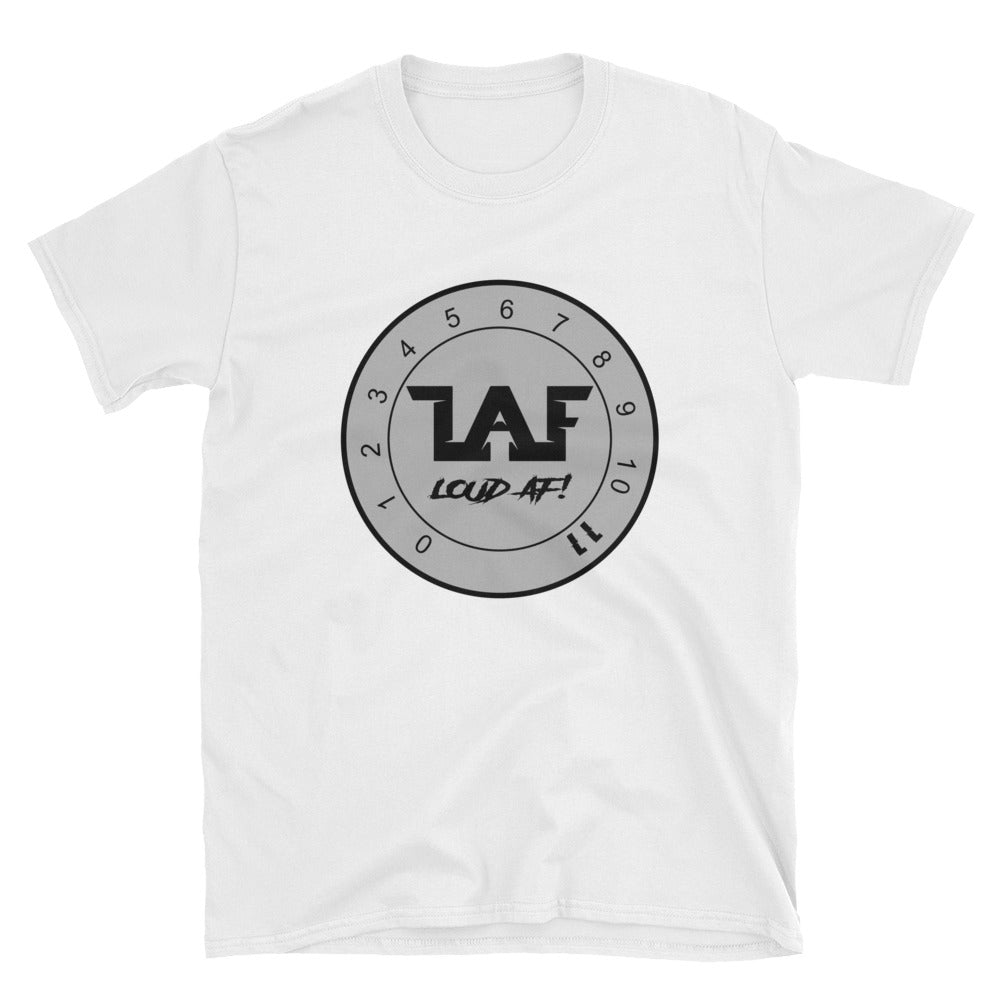 LAF - Lange Audio Fabrication Loud AF Grey Logo T-Shirt