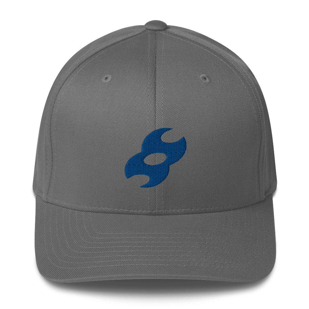 Second Skin 3D Puff Logo Flex Fit Hat