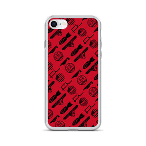 Fi ALL Logo iPhone Case (Red)