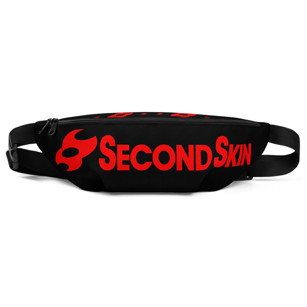 Second Skin Fanny Pack (Black/red)