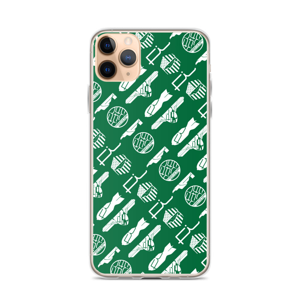 Fi ALL Logo iPhone Case (Green/White)