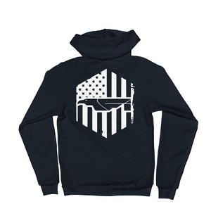 Fi Flag Full Zip Hoodie sweater