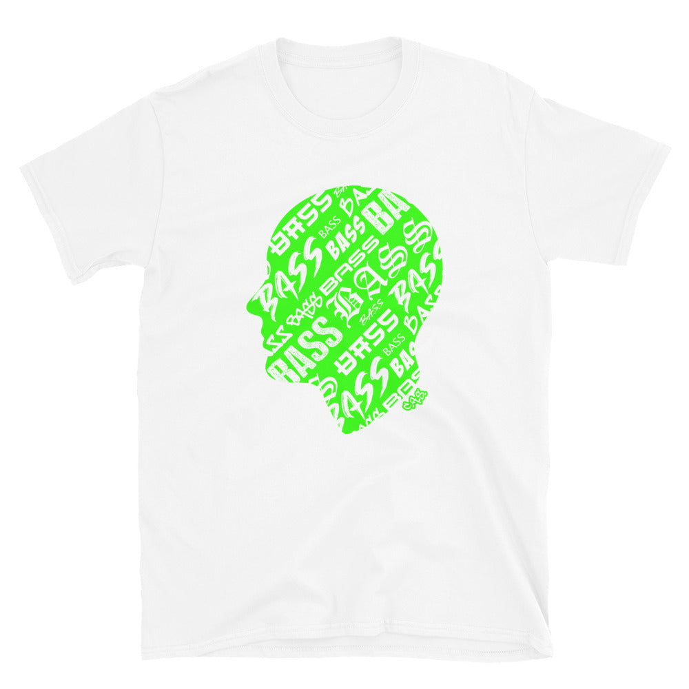 Car Audio Swag Bass Head Tee (Neon Green)