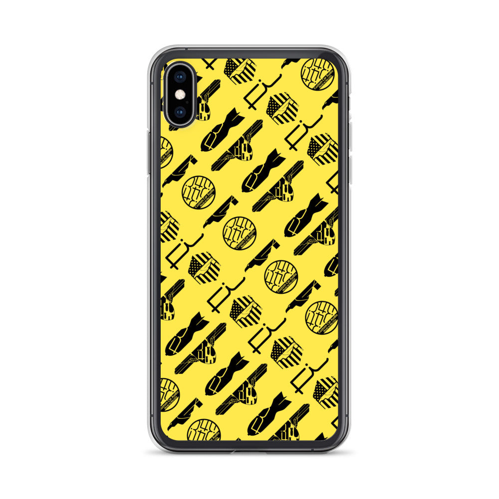 Fi ALL Logo iPhone Case (Yellow)