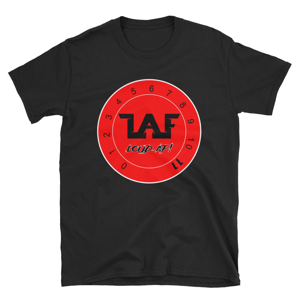 LAF - Lange Audio Fabrication Loud AF Red Logo T-Shirt