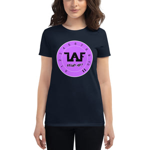 LAF Loud Af Purple Logo Women's short sleeve t-shirt