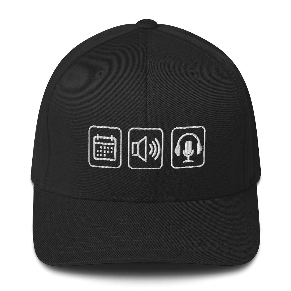 Everyday Audios Personalized Flex Fit hat