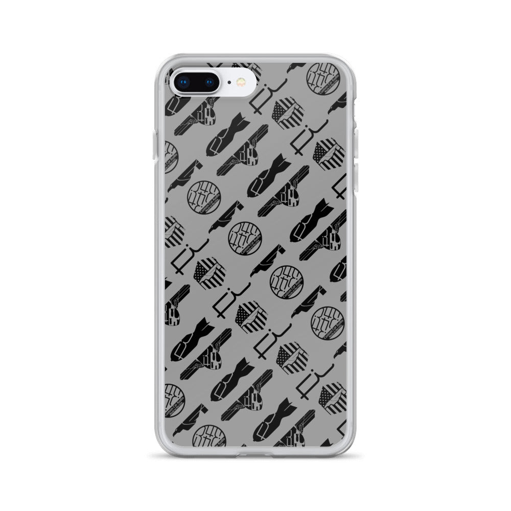 Fi ALL Logo iPhone Case (Silver/Grey)