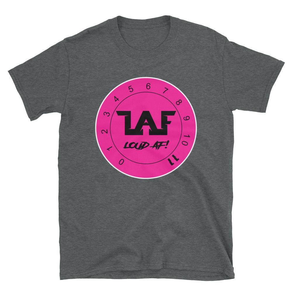 LAF - Lange Audio Fabrication Loud AF Pink Logo T-Shirt