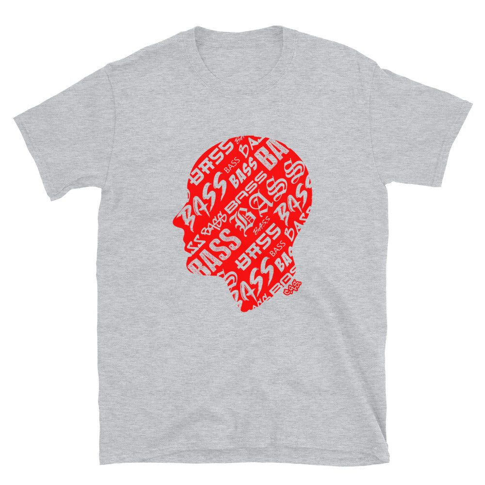 Car Audio Swag Bass Head Tee (Red)
