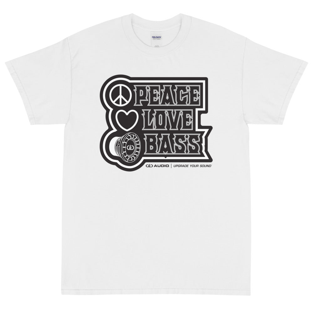 DD Audio - Peace Love Bass T-Shirt (4x-5x)